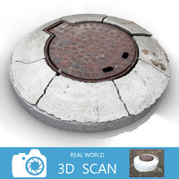 scanned sewer lid max