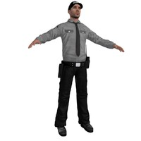 security 2 3d model