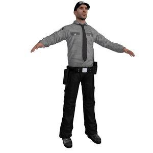 security 2 3d model