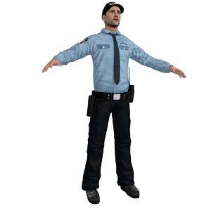3d security agent model