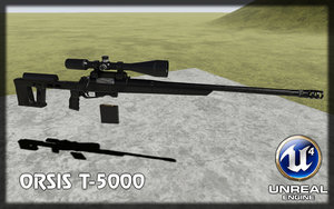 3d ready sniper rifle orsis