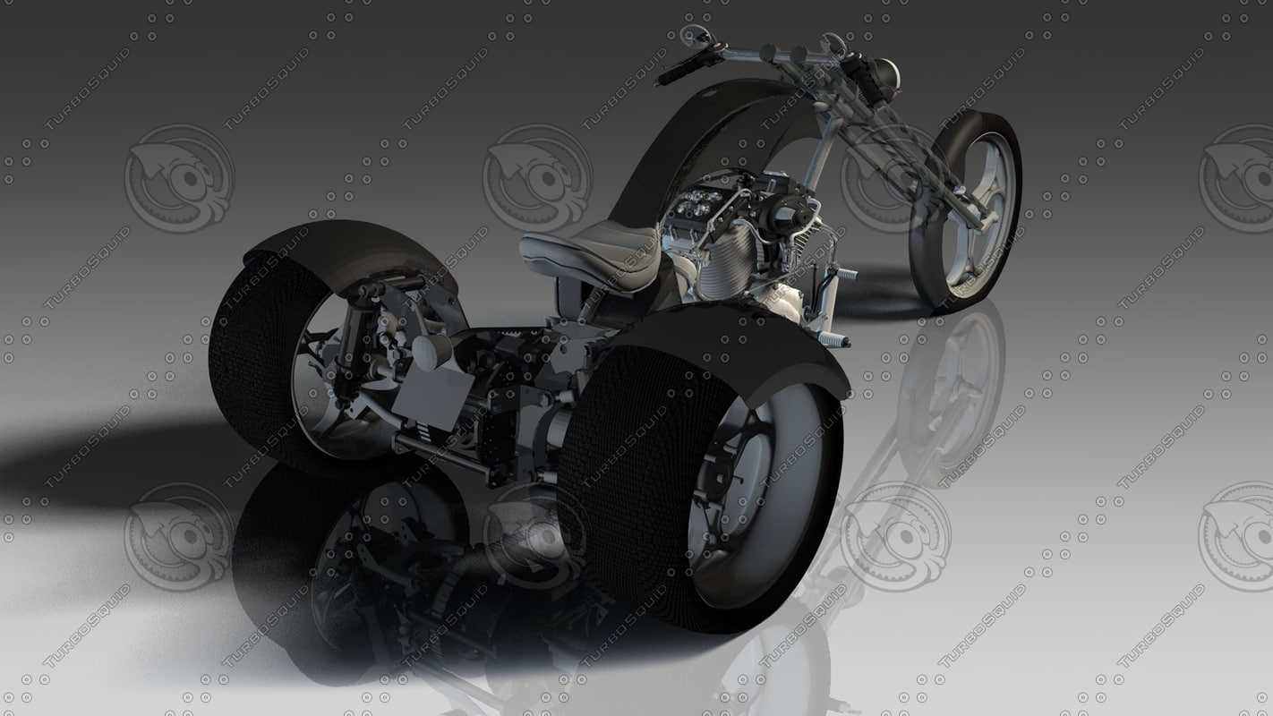 3d model trike