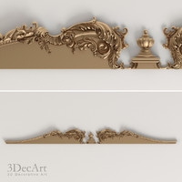 3ds max decorative cornice