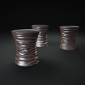 bellows-table 3d model