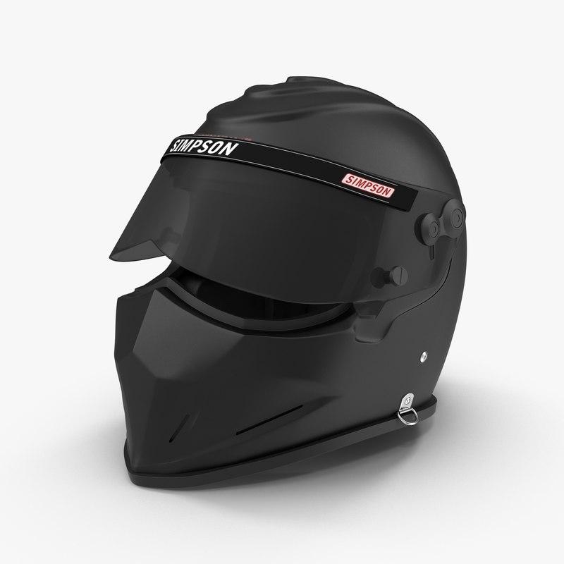 3d model simpson diamondback black