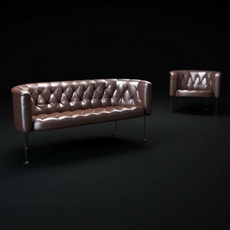 3d haussmann-sofa model