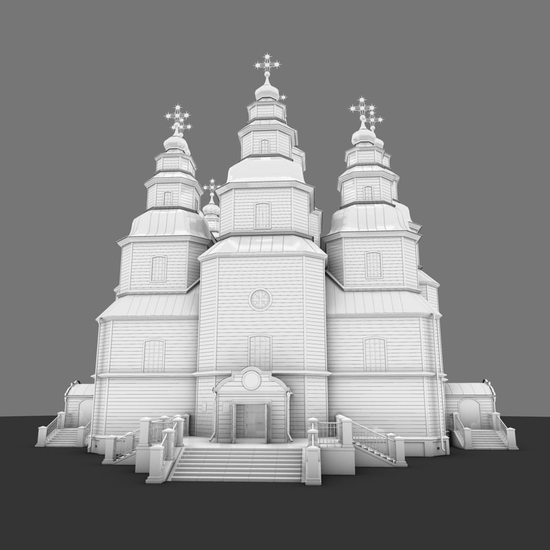 3d trinity cathedral