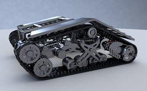 3d model rigged xpresso