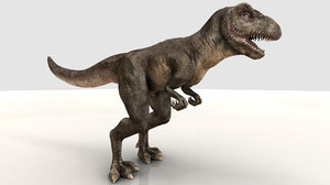 tyrannosaurus 3d blend