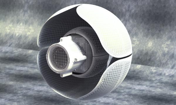 3d model sphere guardian 2014