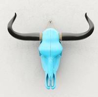cow skull obj
