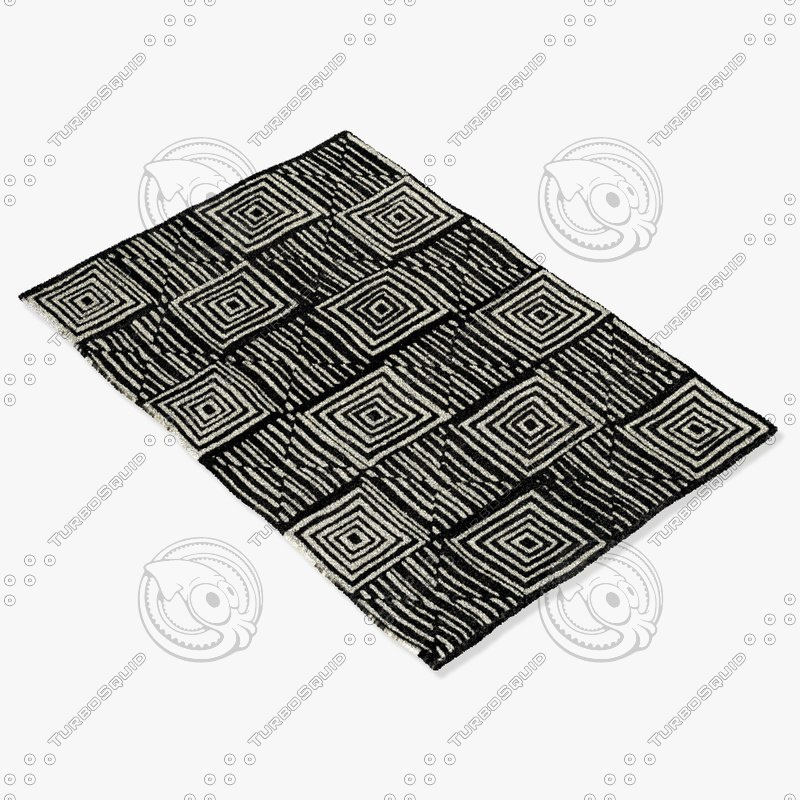 3d model sartory rugs nc-302