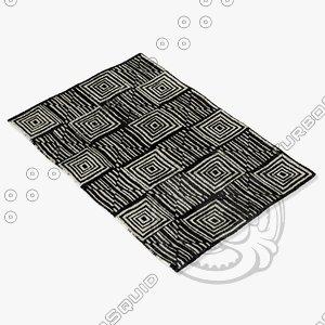 3d model sartory rugs nc-302