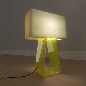 3d tube lamp