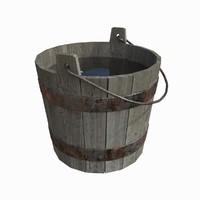 bucket 3d max