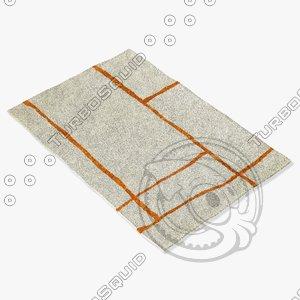 3d model sartory rugs nc-364