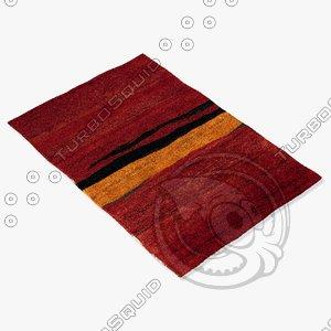 3d model of sartory rugs nc-390