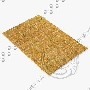 sartory rugs nc-402 3d model