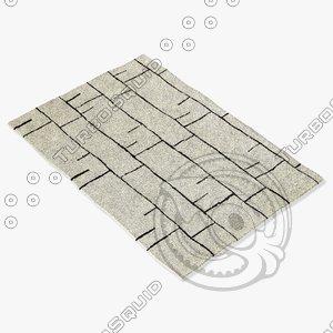 3d sartory rugs nc-404 model