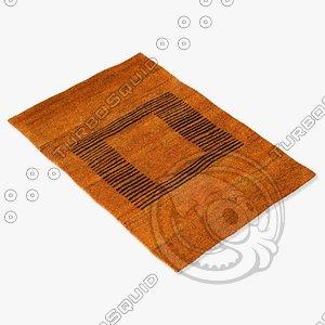 3ds max sartory rugs nc-414