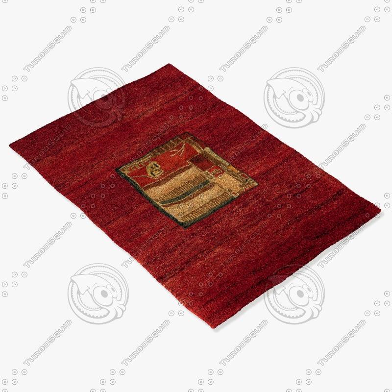 3d model sartory rugs nc-416