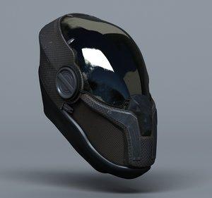 scifi helmets - 3 3d max