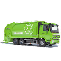 New Mercedes Actros Garbage Truck