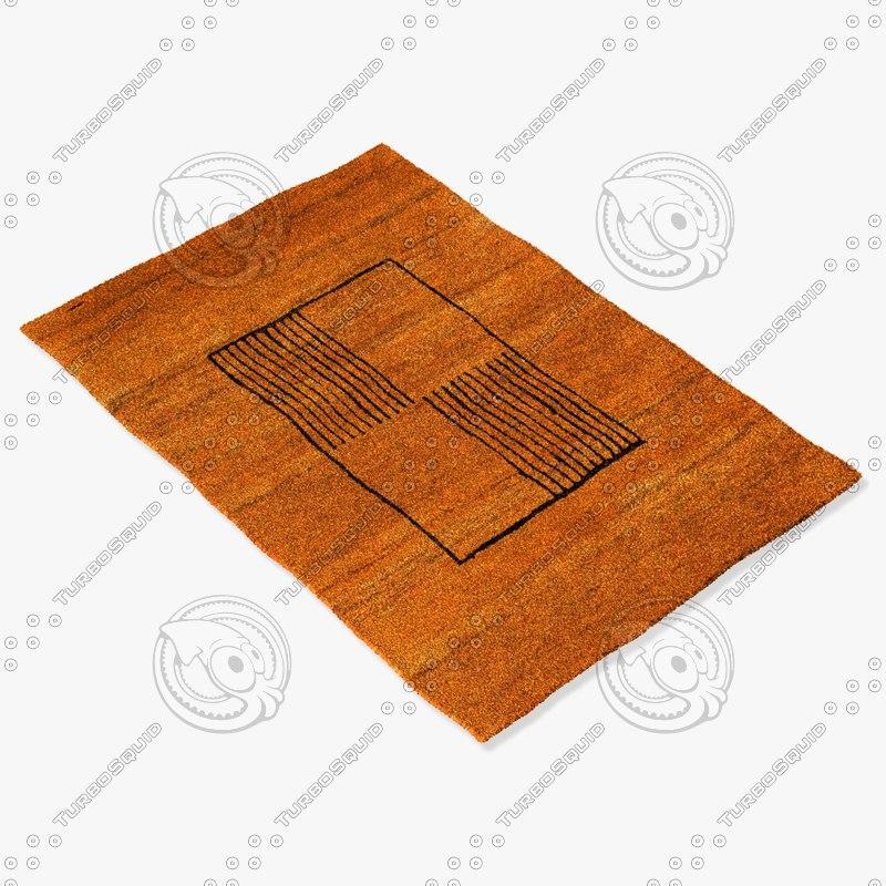 sartory rugs nc-474 3d model