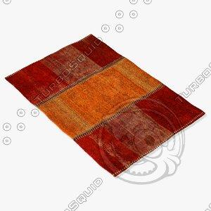3ds max sartory rugs nc-476