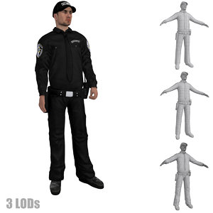 max rigged security guard s