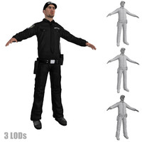 3d security guard