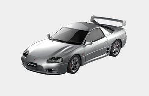 3d 1999 mitsubishi 3000gt