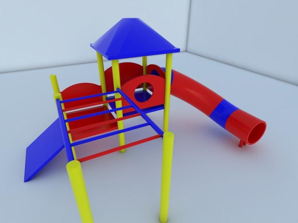 climbing slide 3d 3ds