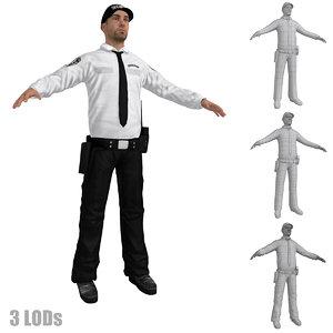 security guard max