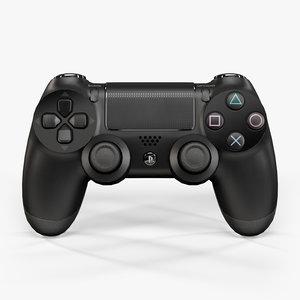 sony playstation 4 controller obj