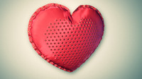 heart pillow c4d