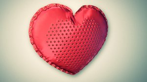 heart pillow c4d