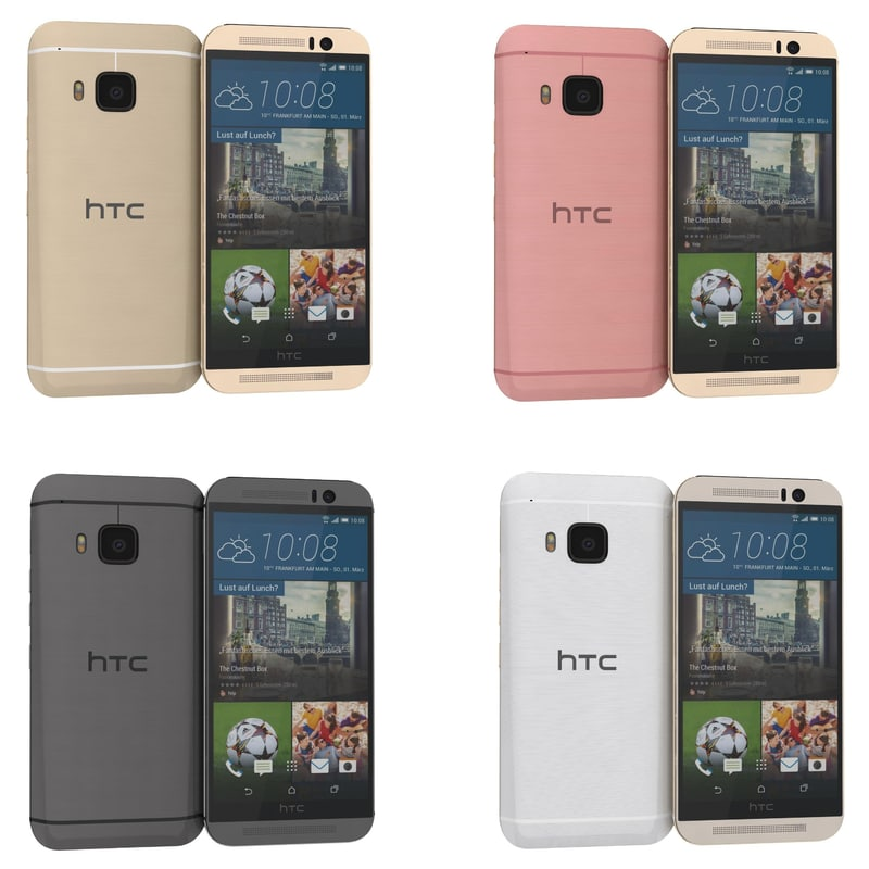3d htc m9 colors