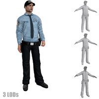 max rigged security guard 3