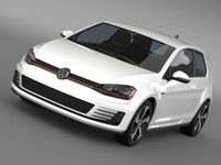 VW Golf GTI 3door 2015