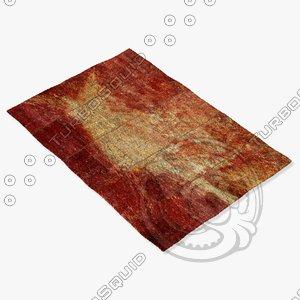 3d model sartory rugs nc-500