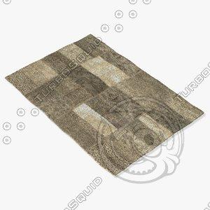 3d model sartory rugs nc-514