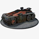 armored personnel carrier 3D models