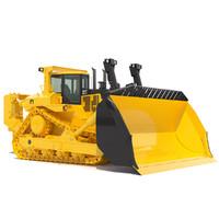 3ds max bulldozer dozer
