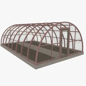 greenhouse green house 3d model