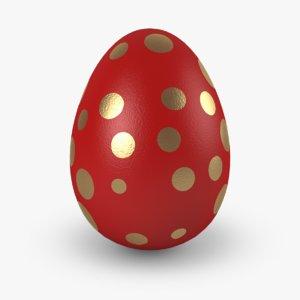 easter eggs v3 3d model
