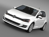VW Golf TSI BlueMotion 3door 2015