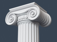 3ds max capital column