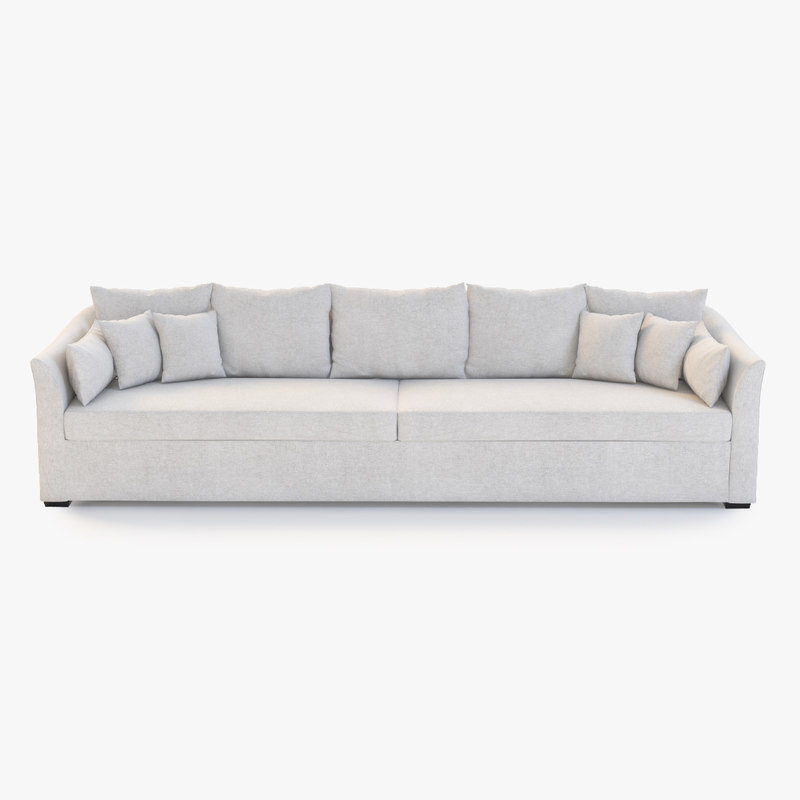 villa sofa holly 3d 3ds