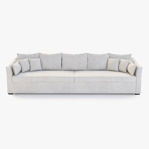villa sofa holly 3d 3ds